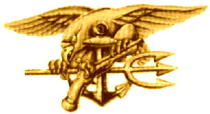 U.S. Navy SEAL Trident badge