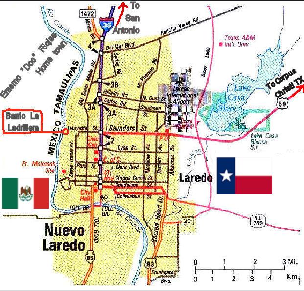 Laredo TX Map